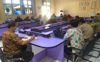 Rapat Evaluasi PTM, Self Monitoring PKL, dan US